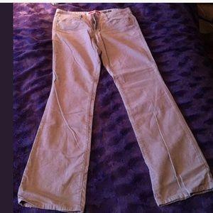 GAP Brown Corduroy Bootcut Pants Size 4 EUC!
